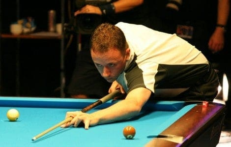 Shane van Boening beim Mosconi Cup 2008 (Foto: Christian Werner unter CC BY 3.0)