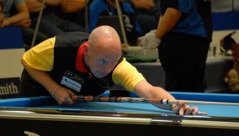 Ralf Souquet auf der Poolbillard Europameisterschaft in Willingen (Foto: Sebastian Voigt unter CC BY 3.0)