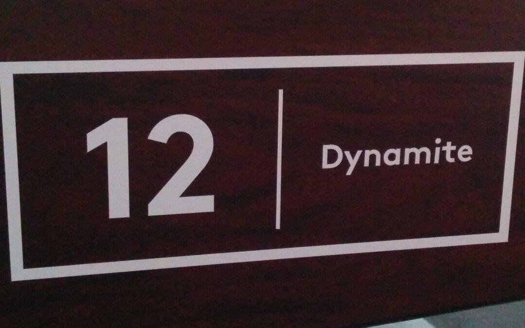 """Tisch Nr. 12: Darren """"Dynamite"""" Appleton"""
