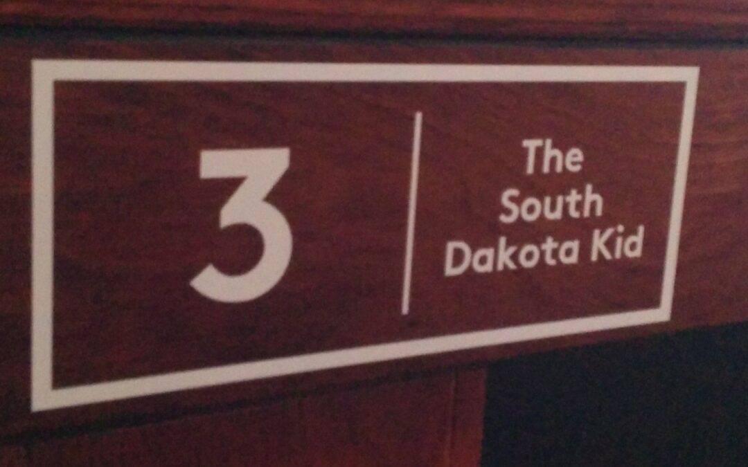 "Table No. 3: Shane ""The South Dakota Kid"" van Boening"