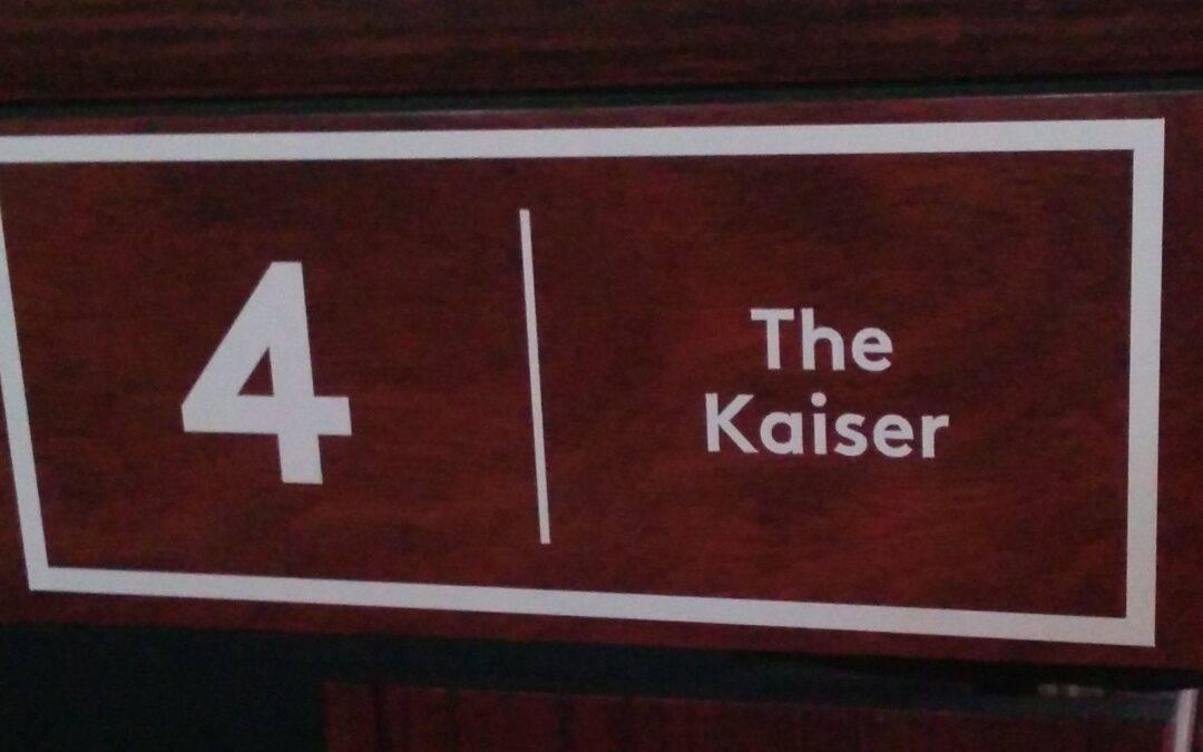 """Table No. 4: Ralf """"The Kaiser"""" Souquet"""